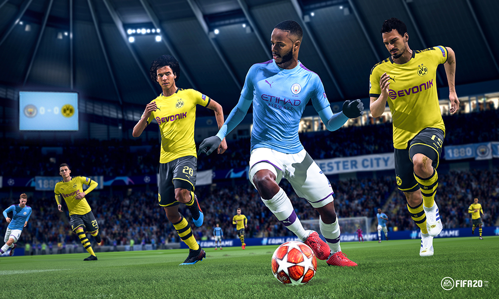 DH Spiele FIFA20 GAMEPLAY NATURAL PLAYER MOTION HIRES 16x9 WM art