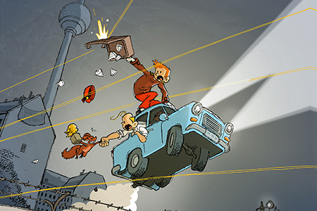 Spirou in Berlin | Flix