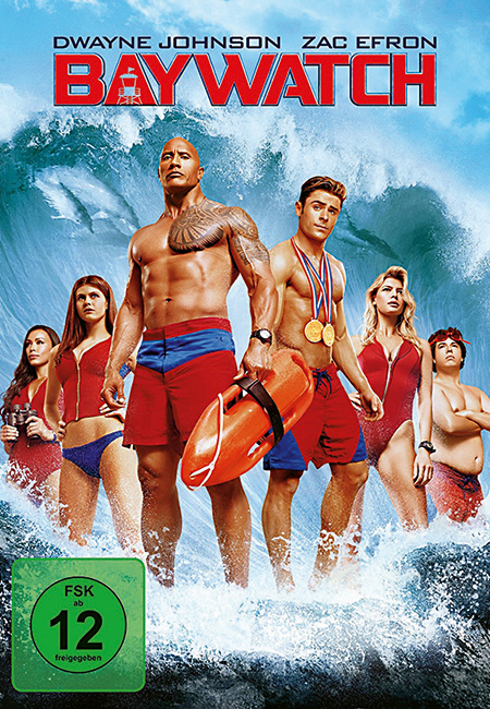 R DVD Baywatch Art
